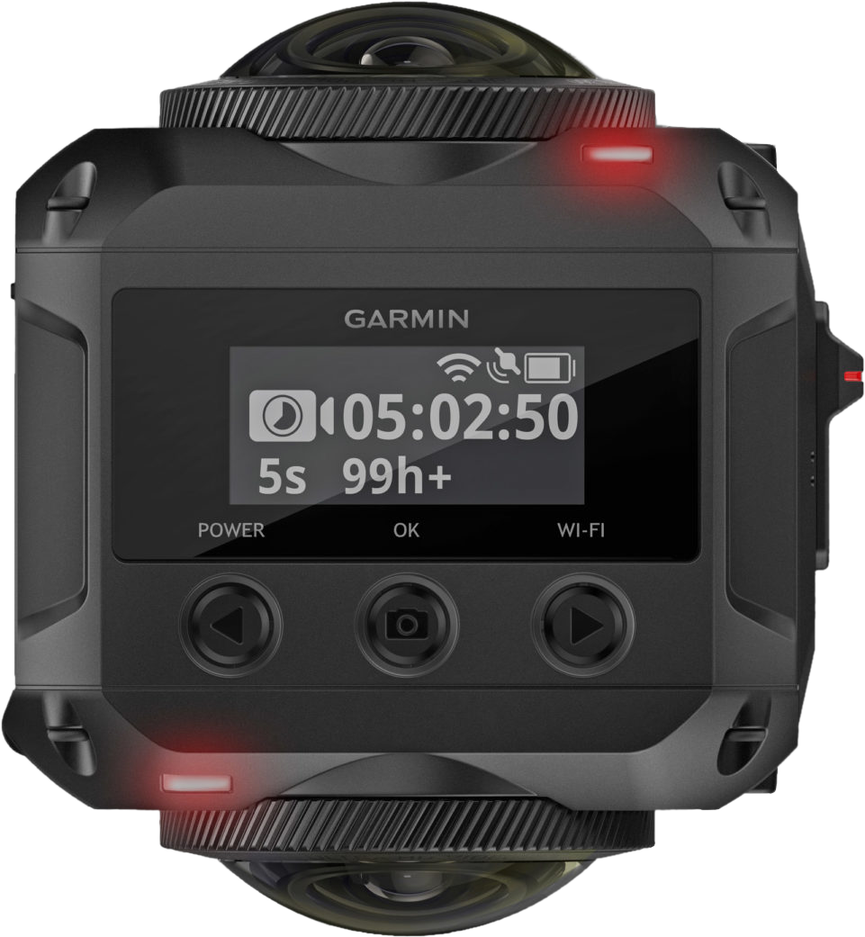 garmin virb 360 actioncam cam ra 360 degr s noir. Black Bedroom Furniture Sets. Home Design Ideas
