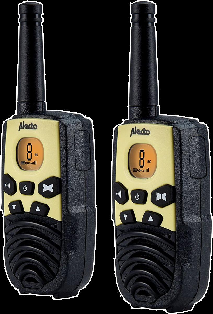 alecto walkie talkie reichweite bis zu 7 km schwarz. Black Bedroom Furniture Sets. Home Design Ideas