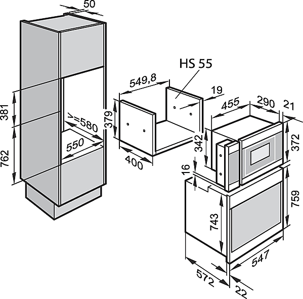 miele m 6022 55 sc blanc micro ondes largeur standard de sms 55 cm jusqu 39 38 cm acheter. Black Bedroom Furniture Sets. Home Design Ideas