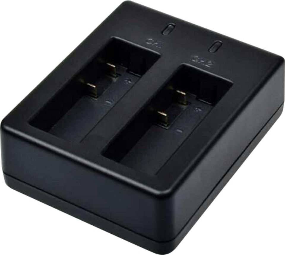 rollei externes ladeger t 2 akkus f r actioncam 510 610 525 625 schwarz g nstig kaufen. Black Bedroom Furniture Sets. Home Design Ideas