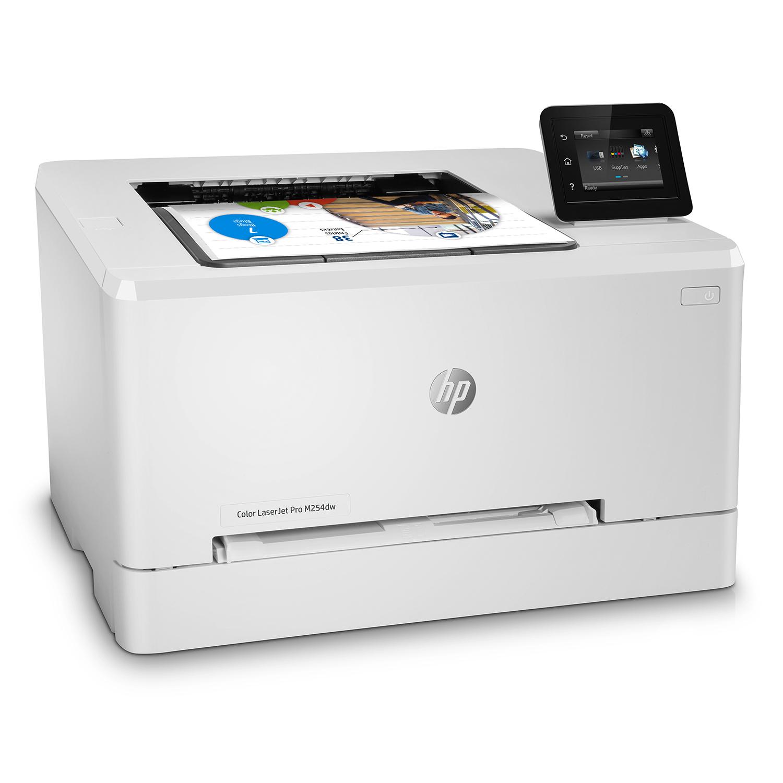 HP LaserJet Pro M254dw Laserdrucker Wi Fi Weiss günstig