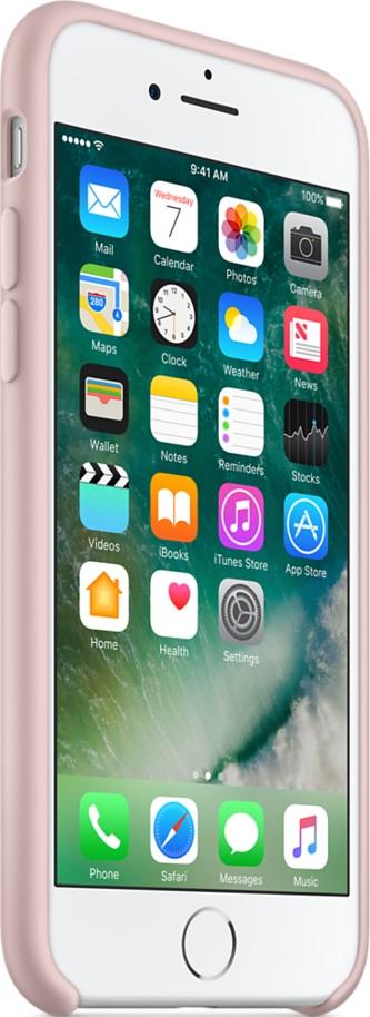 apple iphone 7 silikon case pink g nstig kaufen iphone. Black Bedroom Furniture Sets. Home Design Ideas