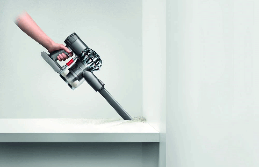 dyson v6 trigger handstaubsauger 350 watt grau. Black Bedroom Furniture Sets. Home Design Ideas