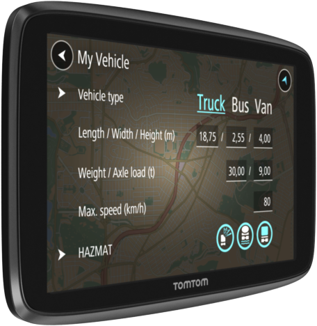 tomtom go professional 6250 lkw navigationsger t touchscreen 6 15 cm schwarz g nstig. Black Bedroom Furniture Sets. Home Design Ideas