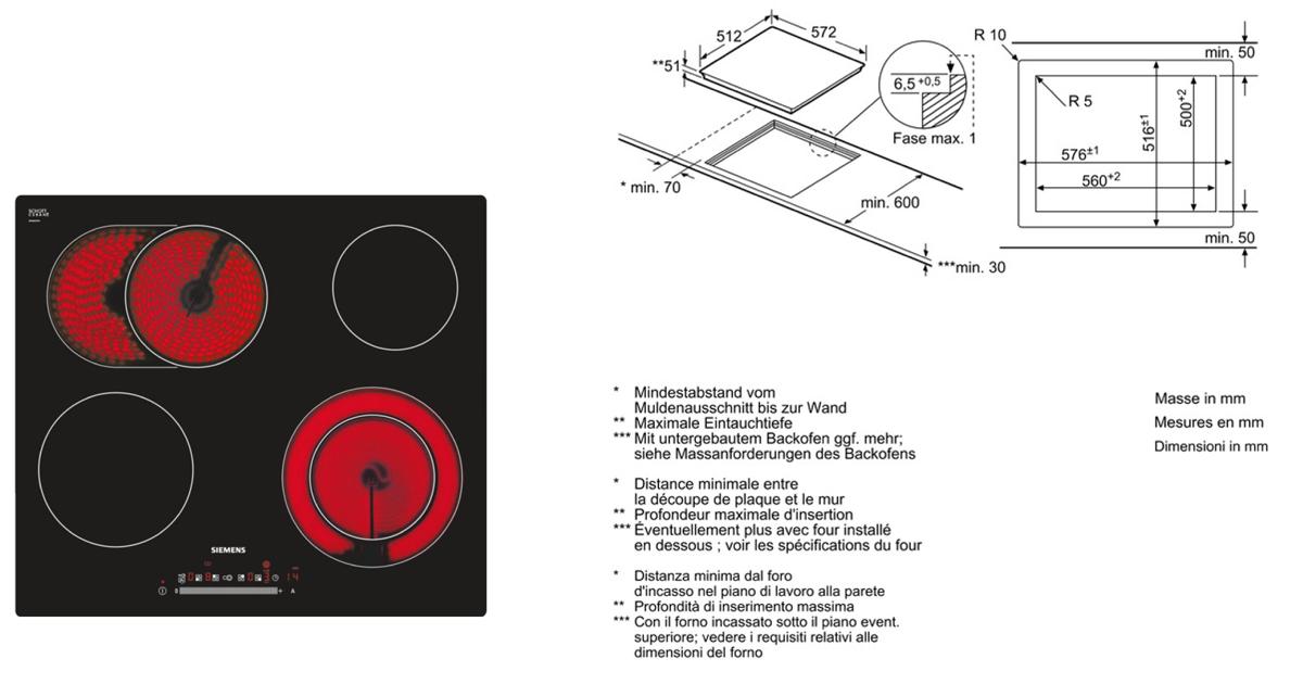 siemens et601fn17c g nstig kaufen einbau kochfelder glaskeramik breite 60 cm media markt. Black Bedroom Furniture Sets. Home Design Ideas