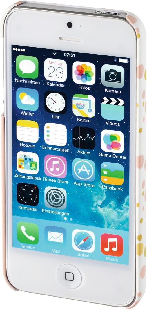 hama cover candy rain f r apple iphone 5 5s se rosa. Black Bedroom Furniture Sets. Home Design Ideas
