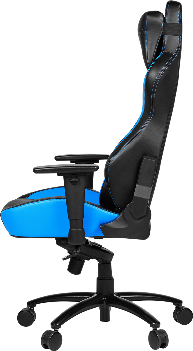 medion erazer x89017 gaming chair grau blau g nstig. Black Bedroom Furniture Sets. Home Design Ideas