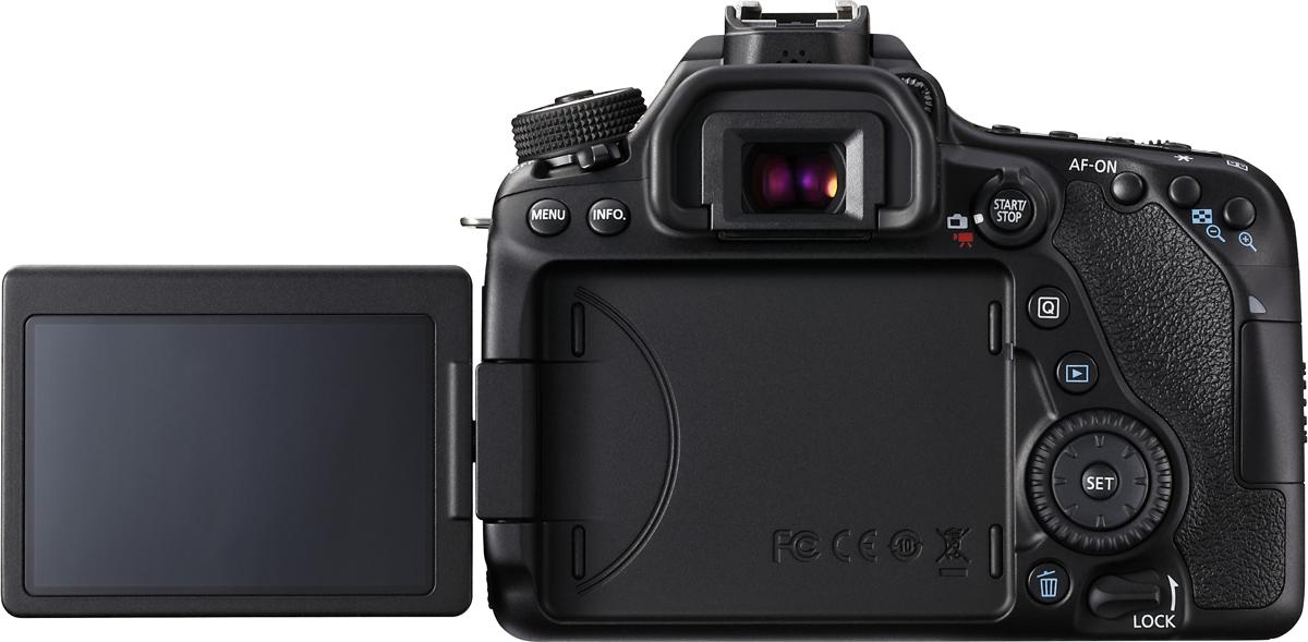 canon eos 80d body 24 2mp noir appareils photo reflex aps c acheter bas prix media. Black Bedroom Furniture Sets. Home Design Ideas