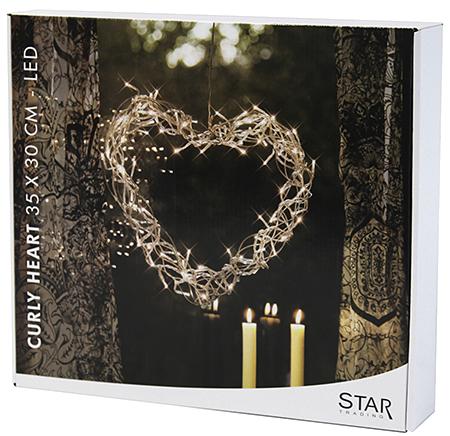 star trading curly heart led herz 30x35cm weiss g nstig kaufen weihnachtsbeleuchtung. Black Bedroom Furniture Sets. Home Design Ideas