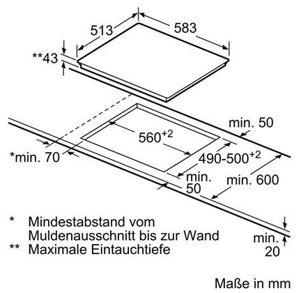 bosch nkf645g17c g nstig kaufen einbau kochfelder glaskeramik breite 60 cm media markt. Black Bedroom Furniture Sets. Home Design Ideas