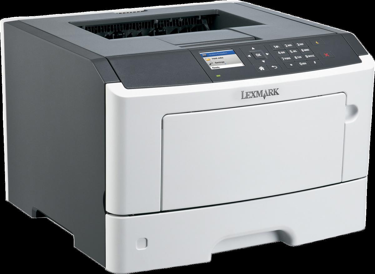 lexmark ms510dn schwarzweiss laserdrucker bis zu 42. Black Bedroom Furniture Sets. Home Design Ideas