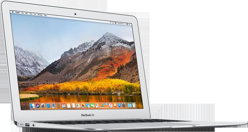 apple macbook air notebook 13 3 silber g nstig. Black Bedroom Furniture Sets. Home Design Ideas