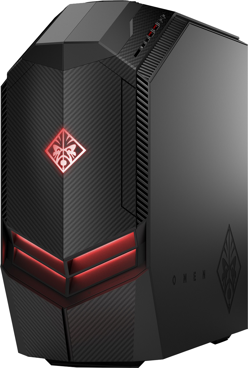 omen by hp desktop pc 880 044nz gaming pc intel core i7 7700 3 6 ghz basisfrequenz. Black Bedroom Furniture Sets. Home Design Ideas