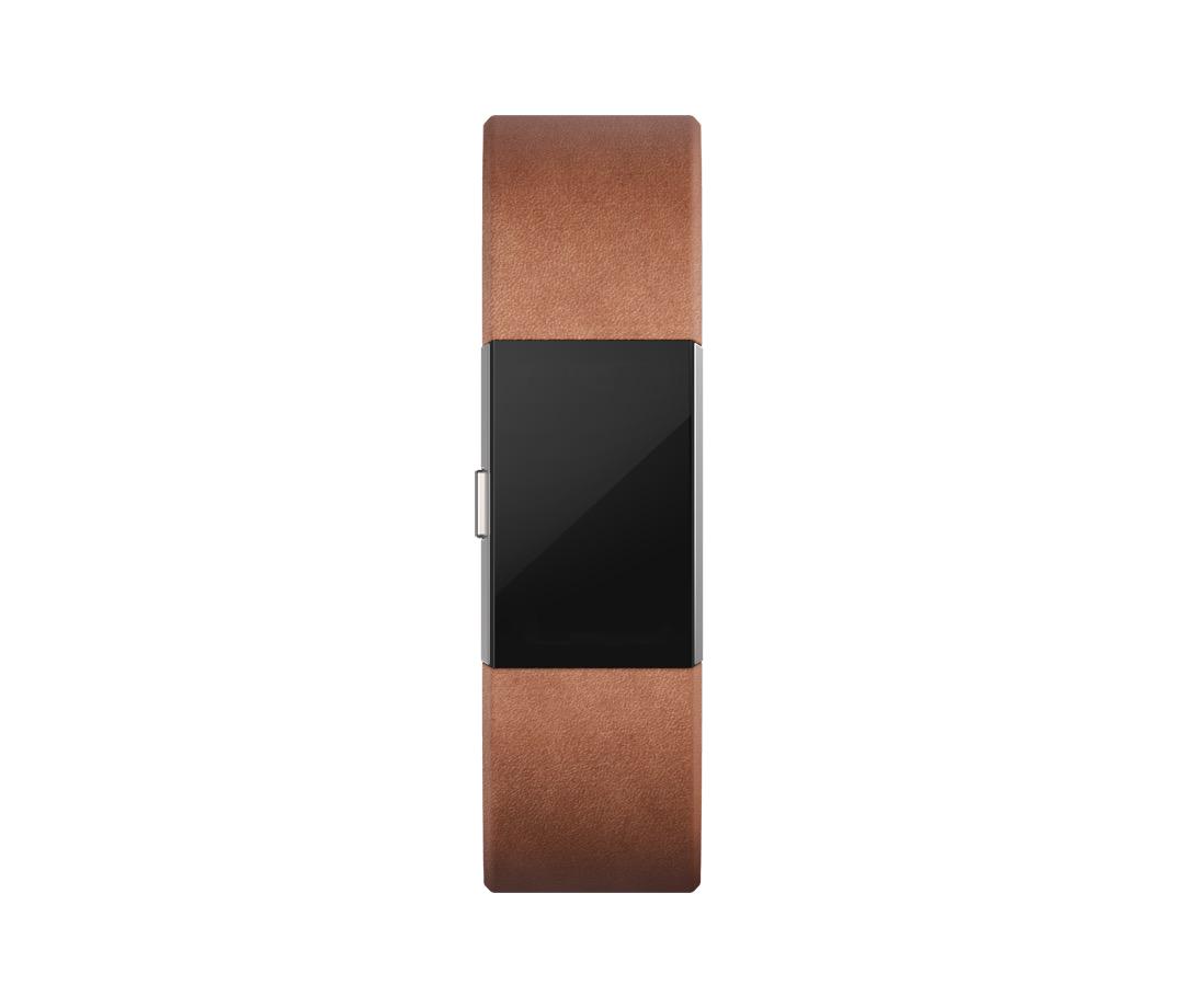 fitbit charge 2 lederarmband gr sse l braun g nstig. Black Bedroom Furniture Sets. Home Design Ideas