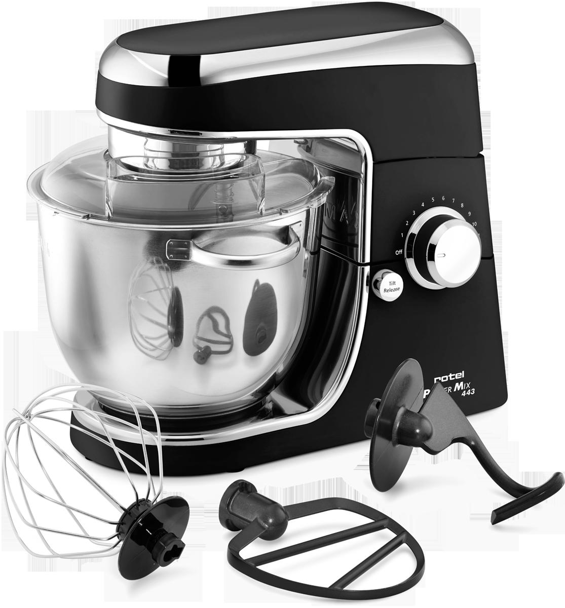 Rotel powermix 443 robot de cuisine 1200 watts noir for Acheter des ustensiles de cuisine