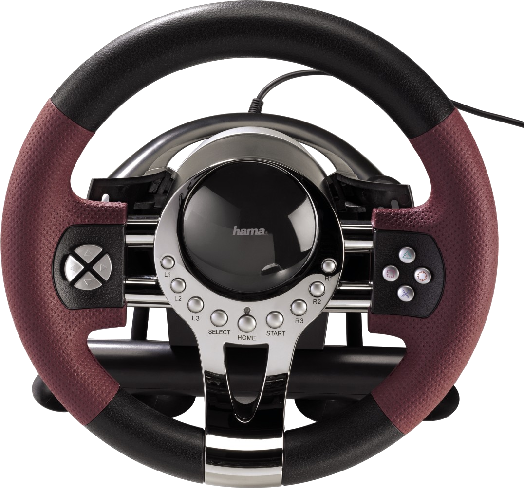hama racing wheel thunder v5 2in1 lenkrad f r sony ps3. Black Bedroom Furniture Sets. Home Design Ideas