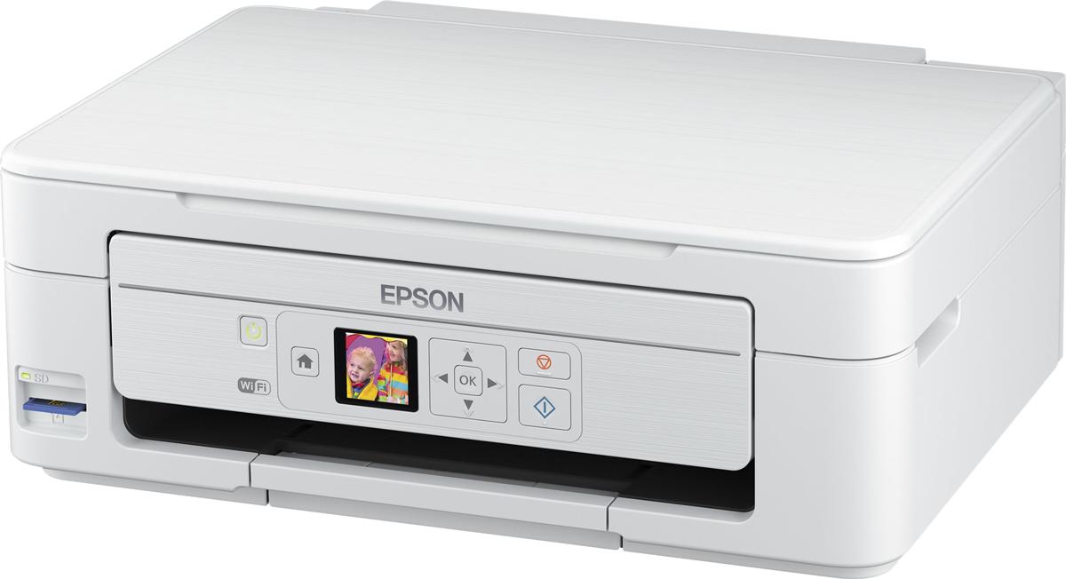 epson expression home xp 345 imprimante multifonctions wi fi blanc imprimantes jet d. Black Bedroom Furniture Sets. Home Design Ideas