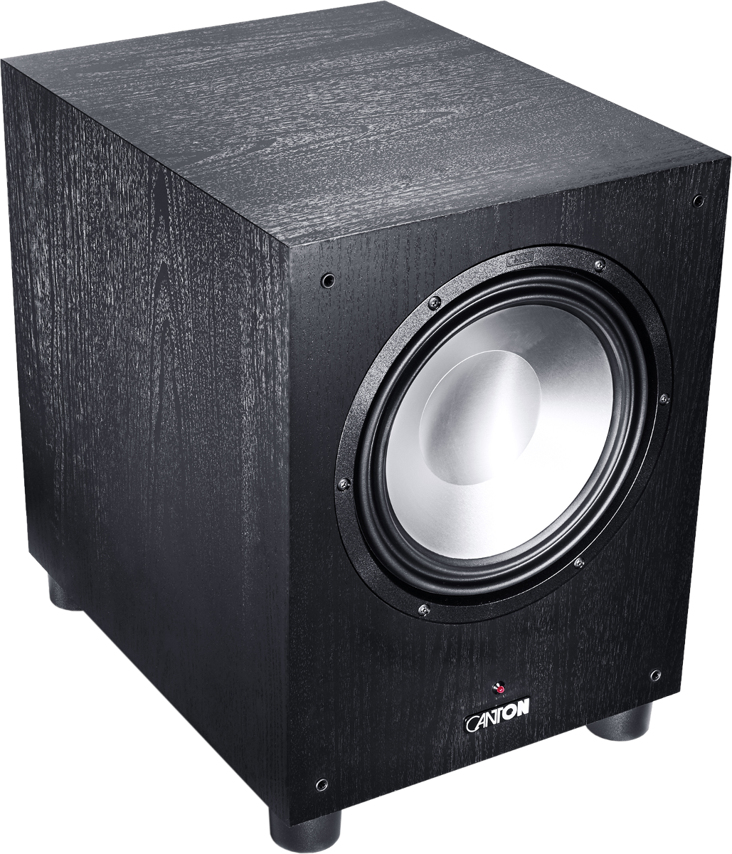 canton sub 10 3 aktiver subwoofer max 330 w schwarz. Black Bedroom Furniture Sets. Home Design Ideas