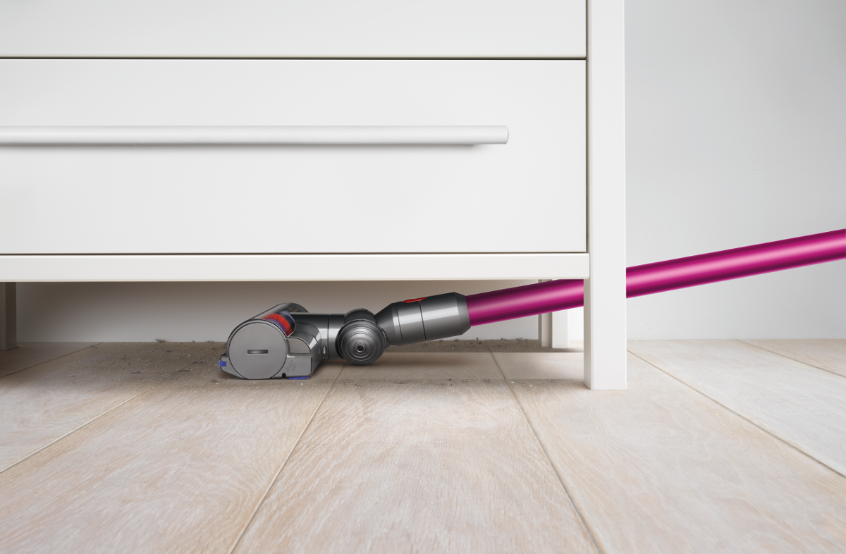 dyson v7 motorhead akku besenstaubsauger 350 w pink. Black Bedroom Furniture Sets. Home Design Ideas