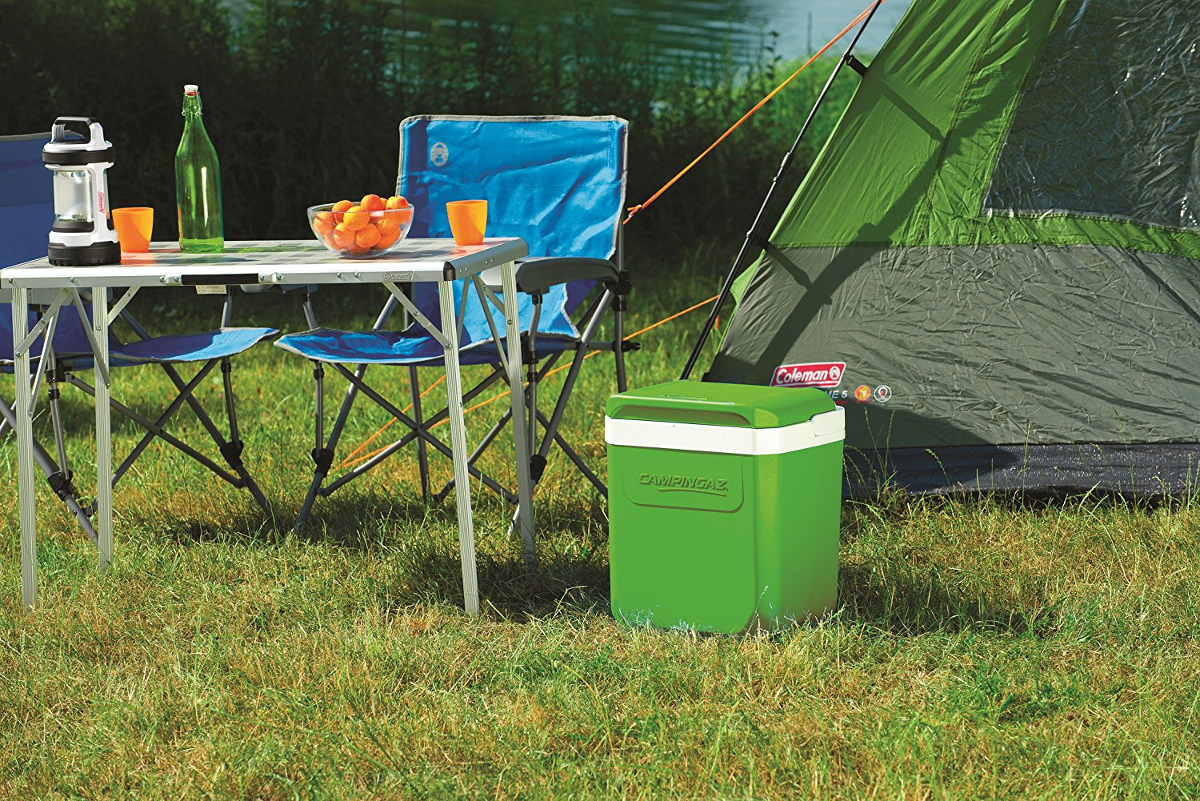 campingaz icetime plus k hlbox 26l lime g nstig. Black Bedroom Furniture Sets. Home Design Ideas