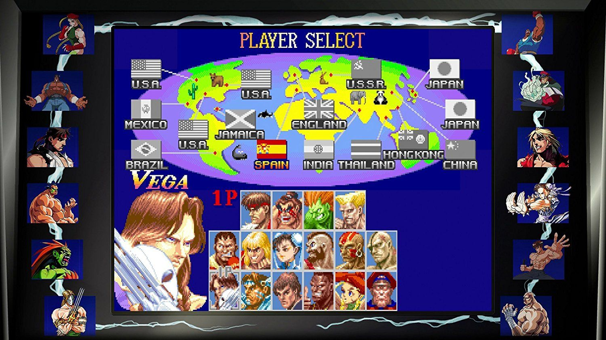 Street Fighter 30th Anniversary Collection, PS4, Multilingual ...