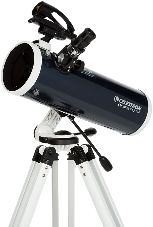 celestron omni xlt az 114mm newton teleskop brennweite. Black Bedroom Furniture Sets. Home Design Ideas