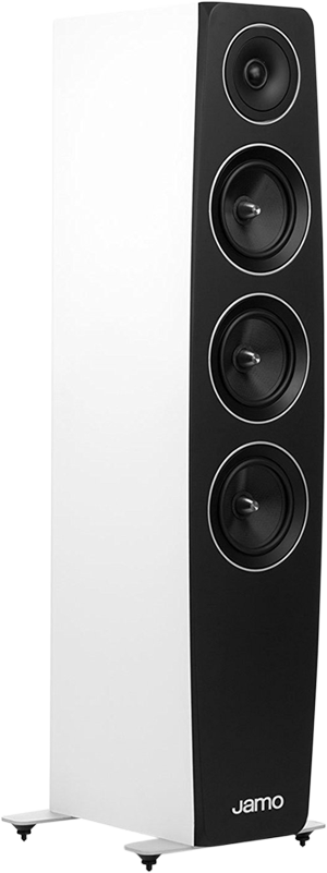 jamo c 97 haut parleur colonne 3 voies bass reflex blanc haut parleurs colonne acheter. Black Bedroom Furniture Sets. Home Design Ideas