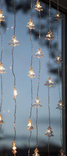 star trading 460 51 fenstervorhang weihnachtsbeleuchtung mit 30x tannenbaummotive. Black Bedroom Furniture Sets. Home Design Ideas