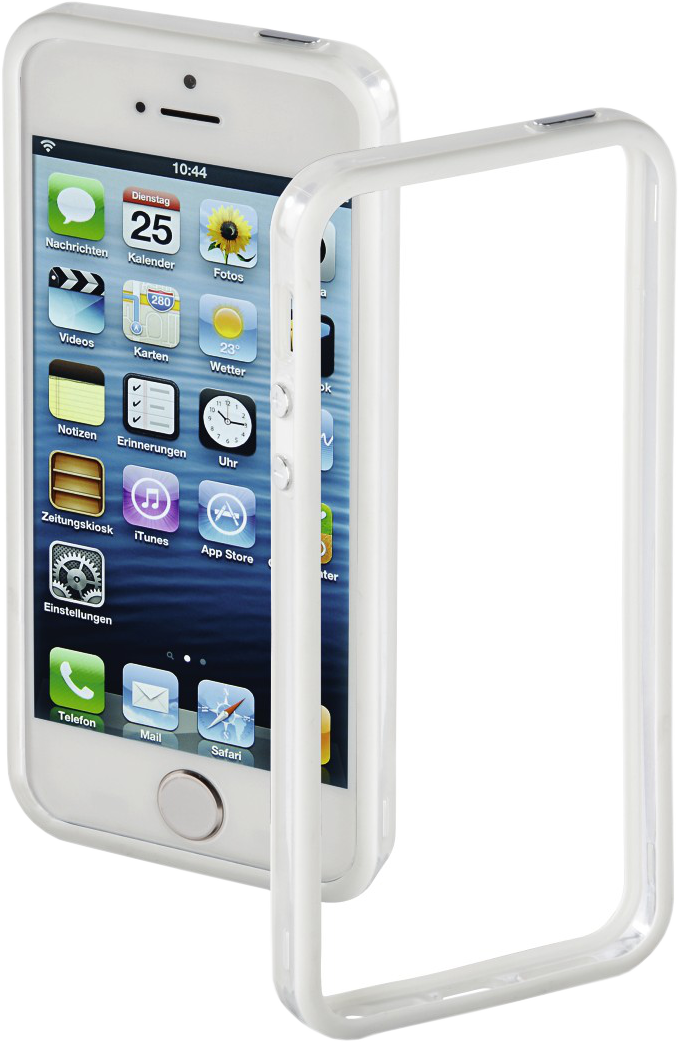 hama cover edge protector f r apple iphone 5 5s se. Black Bedroom Furniture Sets. Home Design Ideas