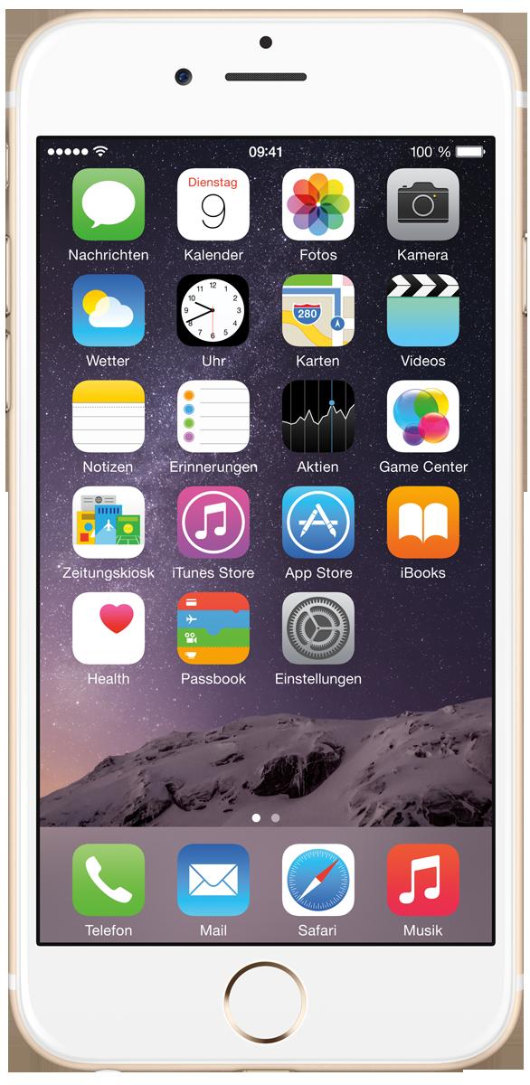 apple iphone 6 ios smartphone 128 gb gold g nstig kaufen iphone 6 media markt online shop. Black Bedroom Furniture Sets. Home Design Ideas