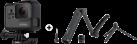 GoPro Hero 5 Black Edition - Actioncam - 4K - grau + GoPro 3-Way