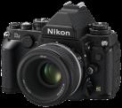 Nikon DF + AF-S 50 mm, schwarz
