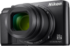Nikon COOLPIX A900 - Camera compatta - 20.3 MP - nero