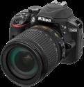 Nikon D3400 + AF-P DX 18-105 mm VR - Fotocamera reflex - 24.2 MP - nero