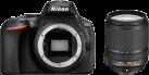 Nikon D5600 + AF-S DX NIKKOR 18–140MM 1:3,5–5,6G ED VR - macchina fotografica DSLR  - 24.2 MP - nero
