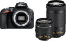 Nikon D5600 + 18–55 MM + 70-300 MM - macchina fotografica DSLR  - 24.2 MP - nero
