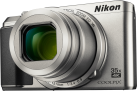 Nikon COOLPIX A900 - Camera compact - 20.3 MP - argent
