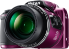 Nikon COOLPIX B500 - Bridgekamera - 16 MP - Violett