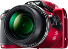 Nikon COOLPIX B500 - Bridgekamera - 16 MP - Rot