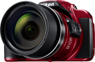 Nikon COOLPIX B700 - Bridgekamera - 20.3 MP - Rot