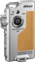 Nikon KeyMission 80 - Actioncam - 12.4 MP/4.9 MP - silber