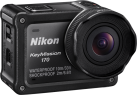 Nikon KeyMission 170 - Actioncam 170° - 4K - noir