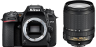 Nikon D7500 BODY - 20.9 MP + AF-S DX NIKKOR 18–140 mm 1:3,5–5,6 G ED VR - Nero