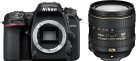 Nikon D7500 BODY - 20.9 MP + AF-S DX NIKKOR 16–80 mm 1:2,8–4 E ED VR - Noir