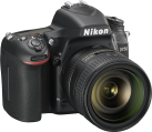 Nikon D750, 24-85mm VR, 24.3 MP, Nero