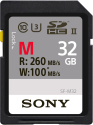 SONY SDXC UHS-II SF-M Series, 32 GB