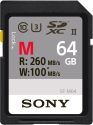 SONY SDXC UHS-II SF-M Series, 64 GB