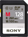 SONY SDXC UHS-II SF-M Series, 128 GB