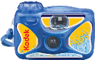 Kodak MAX Water & Sport - Appareil photo jetable étanche - 35 mm