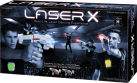 NSI International Products Inc. Laser X Double - Multiplayer-Laserspielset - Weiss